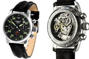 Relógios Russos - Poljot Corda Manual