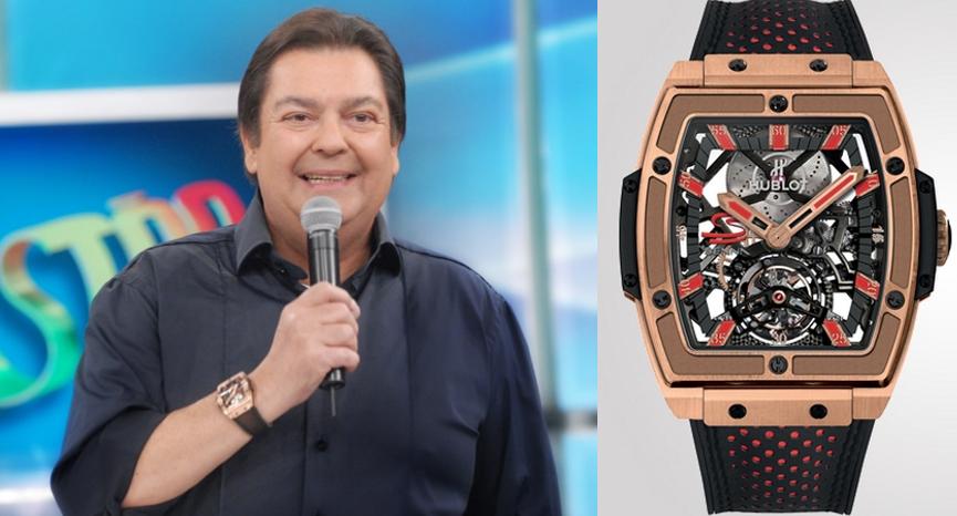 d98e75bd9bd Veja a incrível coleção de Relógios do Faustão