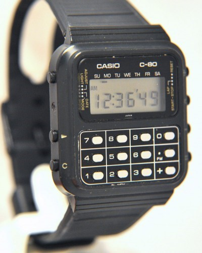 Smartwatches - Casio C-80