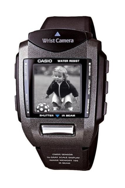 Smartwatches - Casio Wrist Camera