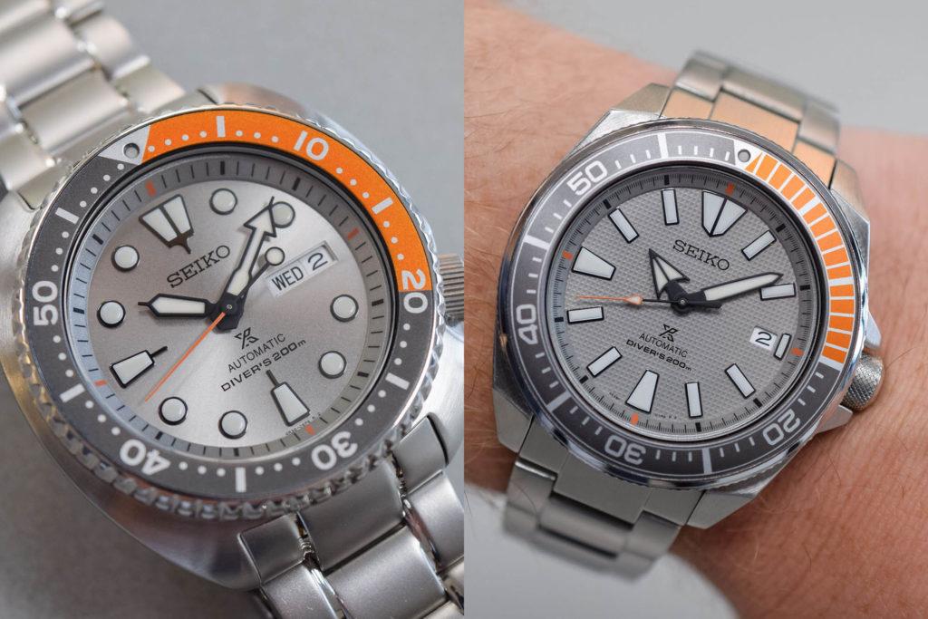 Seiko Prospex Dawn Grey Europe Limited Edition Turtle SRPD01K1 Samurai SRPD03K1 1024x683 - Seiko Turtle & Samurai Dawn Grey Series: Exclusivo para o mercado Europeu*