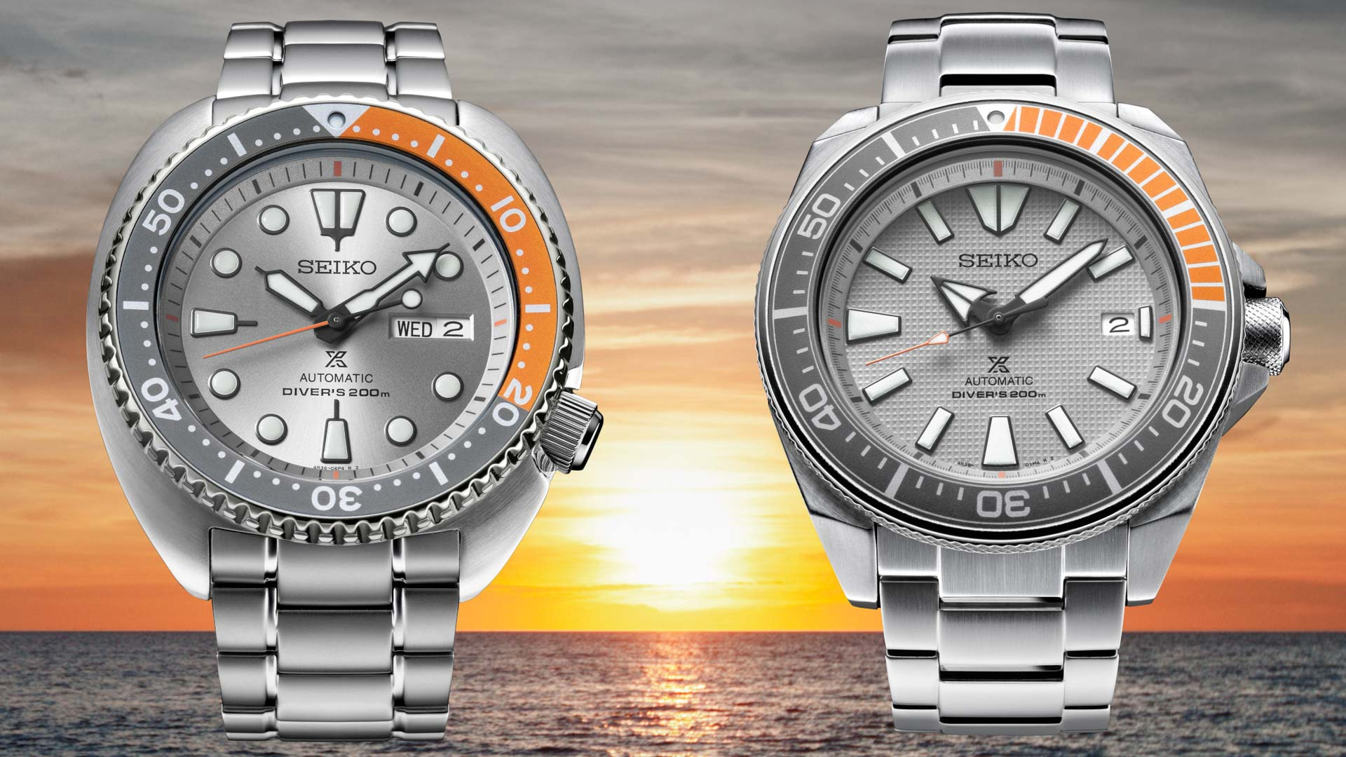 52666000afb55 Seiko Turtle   Samurai Dawn Grey Series  Exclusivo para o mercado Europeu     Blog Thauro Relógios