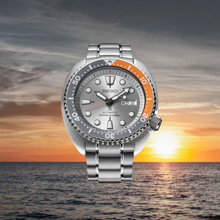 935a05dfdcc51 Seiko Turtle   Samurai Dawn Grey Series  Exclusivo para o mercado Europeu