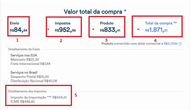 Simulação compra de Relógio Serviço Compra Fora Correios - Compra Fora Correios, será que compensa mesmo?