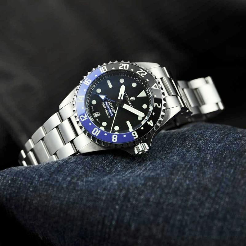 Relógio STEINHART Ocean 39 GMT Premium 500 Automático Diver ETA Thauro Relógios 1 - Relógio STEINHART: seu próximo Relógio Suíço!