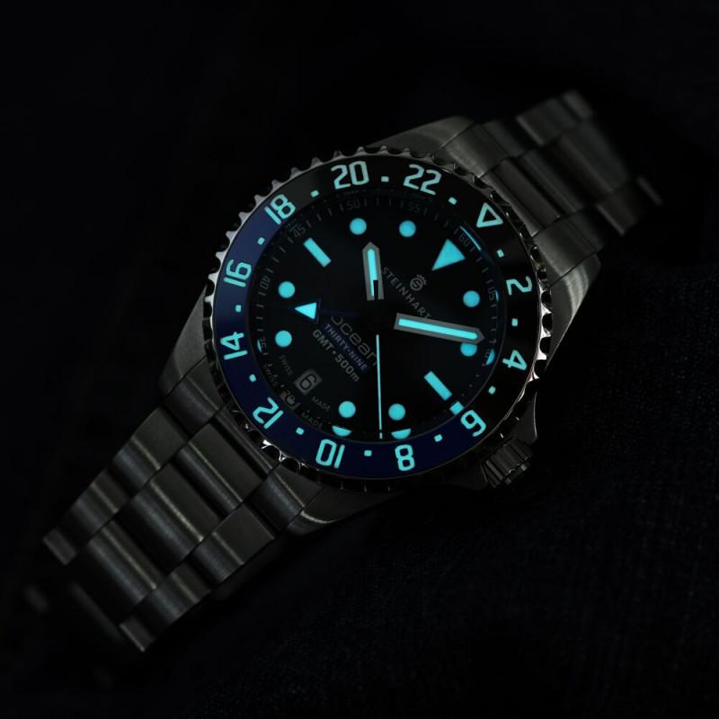 Relógio STEINHART Ocean 39 GMT Premium 500 Automático Diver ETA Thauro Relógios 3 - Relógio STEINHART: seu próximo Relógio Suíço!