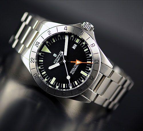 Relógio STEINHART Ocean Vintage GMT Automático Diver 300M Thauro Relógios Comprar Relógio Masculino 7 - Relógio STEINHART: seu próximo Relógio Suíço!