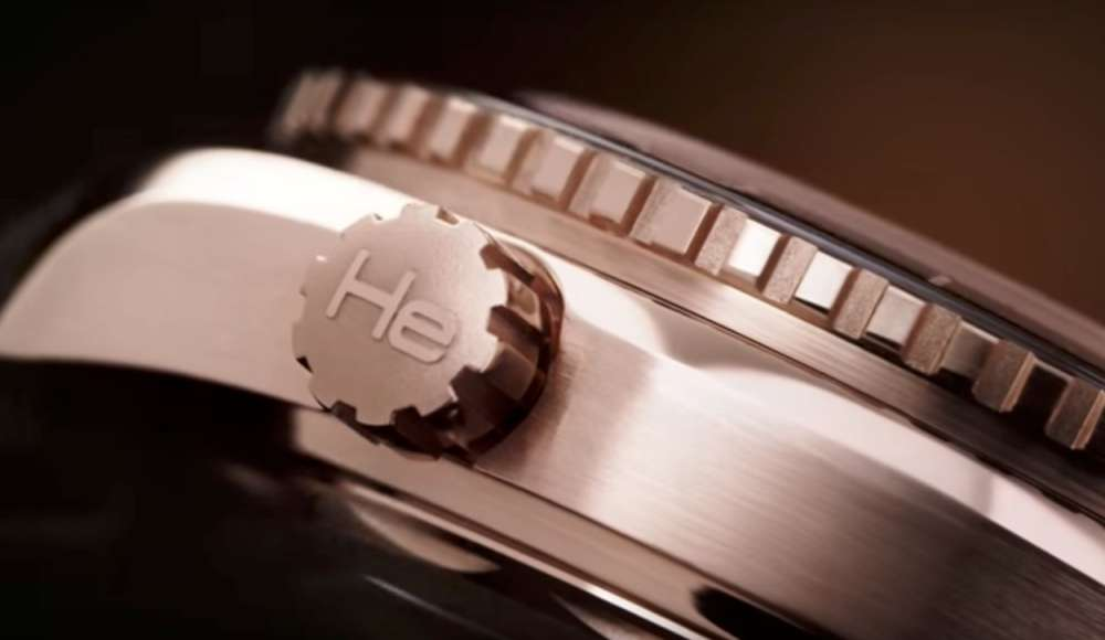 Válvula de Escape Gás Hélio Thauro Relógios - O que é uma válvula de gás hélio nos Relógios?